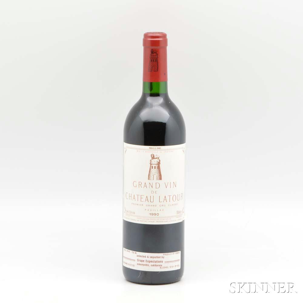 Chateau Latour 1990, 1 bottle
