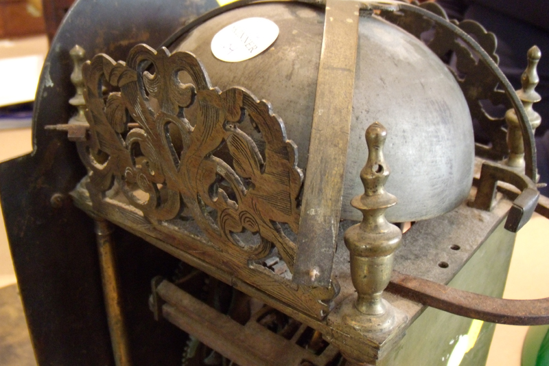 English Ottoman Market Lantern Clock