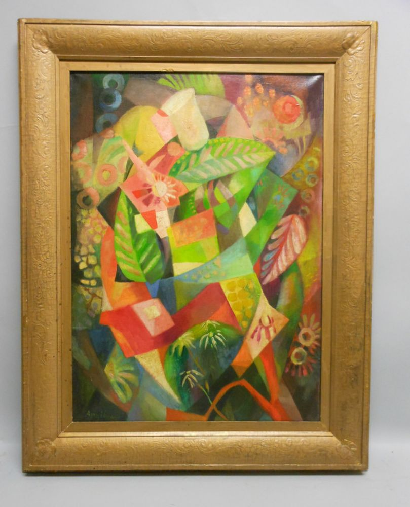 Hélène d'Œttingen, called François Angiboult (Ukrainian, 1887-1950)      Cubist Still Life