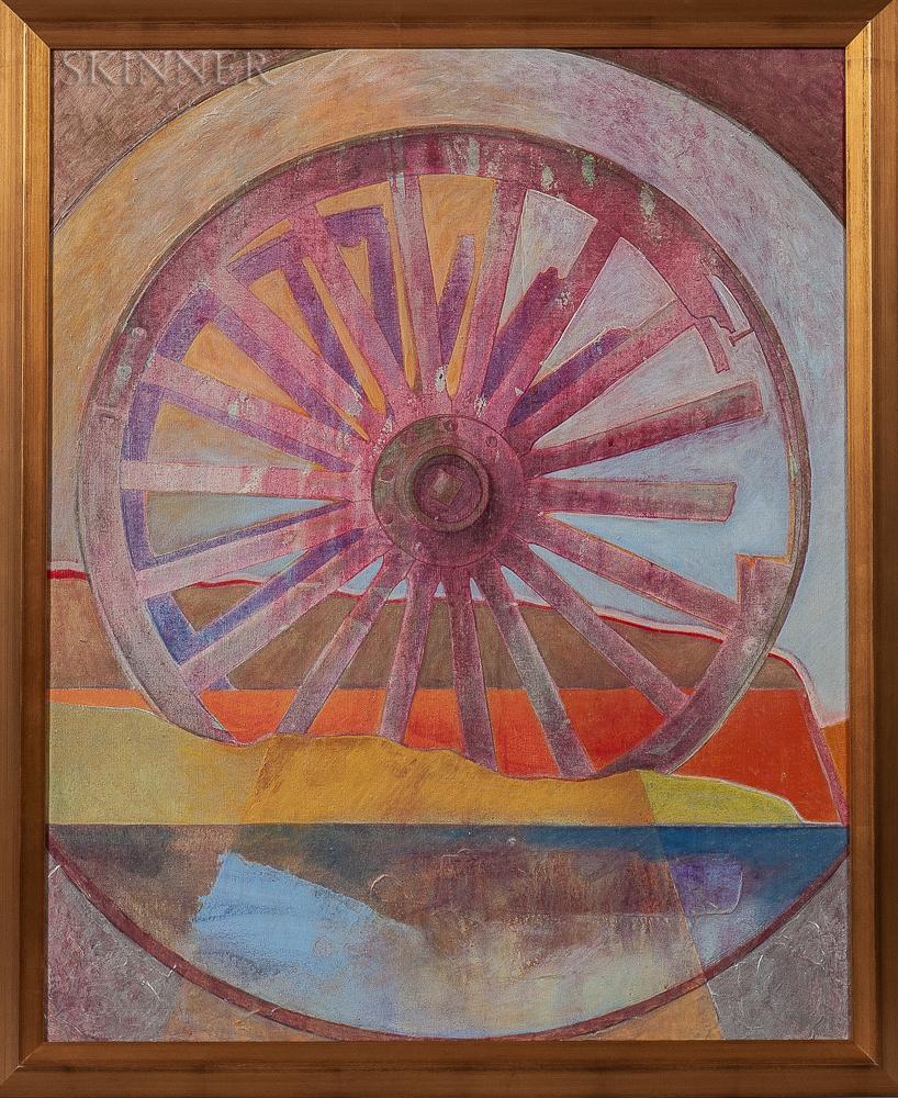 Ronald Wesley Hayes (American, 1935-2017)      Wheel