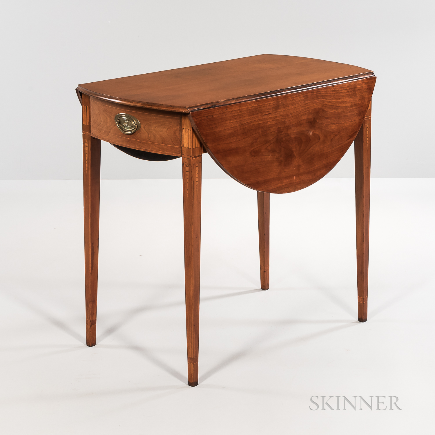 Federal Inlaid Cherry Pembroke Table