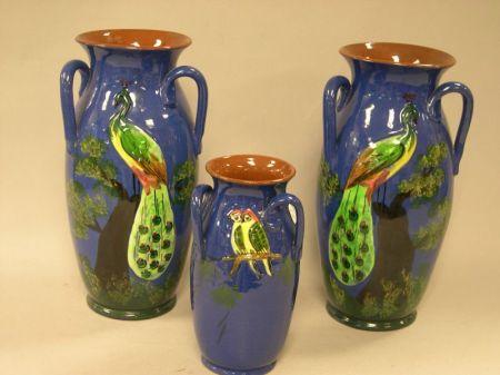 Ten Pieces of Torquay Pottery.