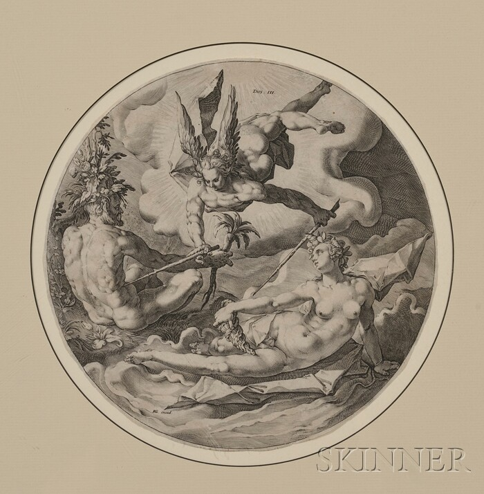 Jacob Matham (Dutch, 1571-1631), After Hendrick Goltzius (Dutch, 1558-1616)      Dies III