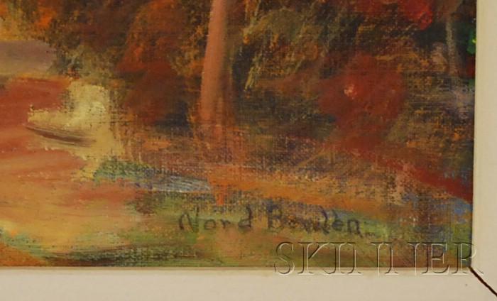 Nord Bowlen (American, 1909-2001)      Quiet Corner
