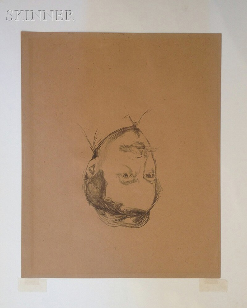 Edvard Munch (Norwegian, 1863-1944)      Porträt Dr. Max Linde