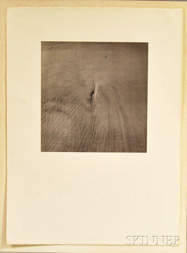 After Harry Callahan (American, 1912-1999)      Water's Edge