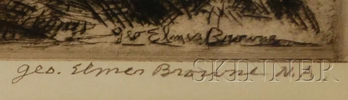George Elmer Browne (American, 1871-1946)      The Bailers.