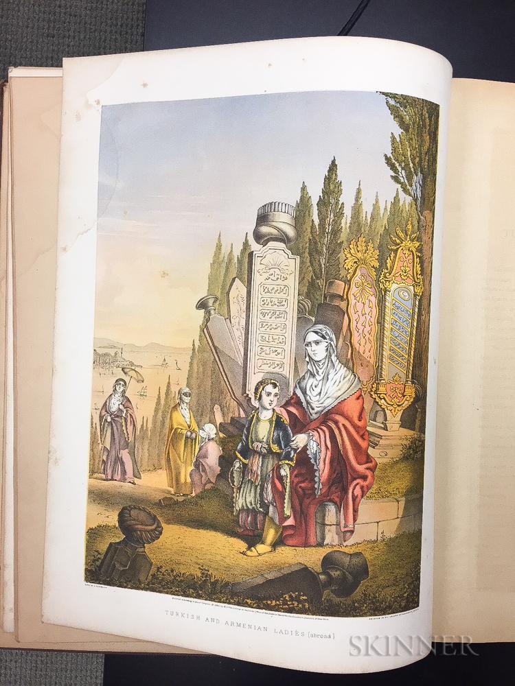 Lennep, Henry John Van (1815-1889) The Oriental Album: Twenty Illustrations in Oil Colors of the People and Scenery of Turkey.