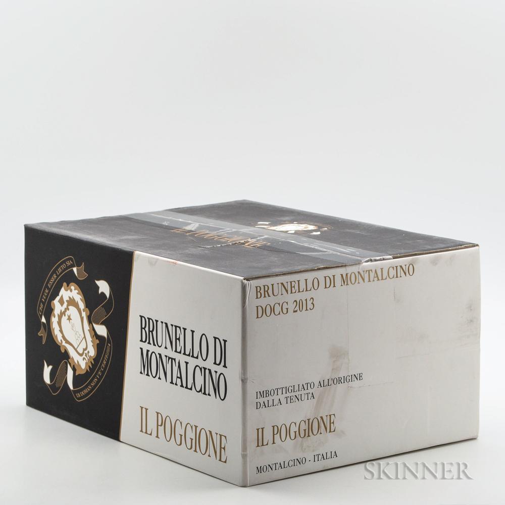 Il Poggione Brunello di Montalcino 2013, 6 bottles (oc)