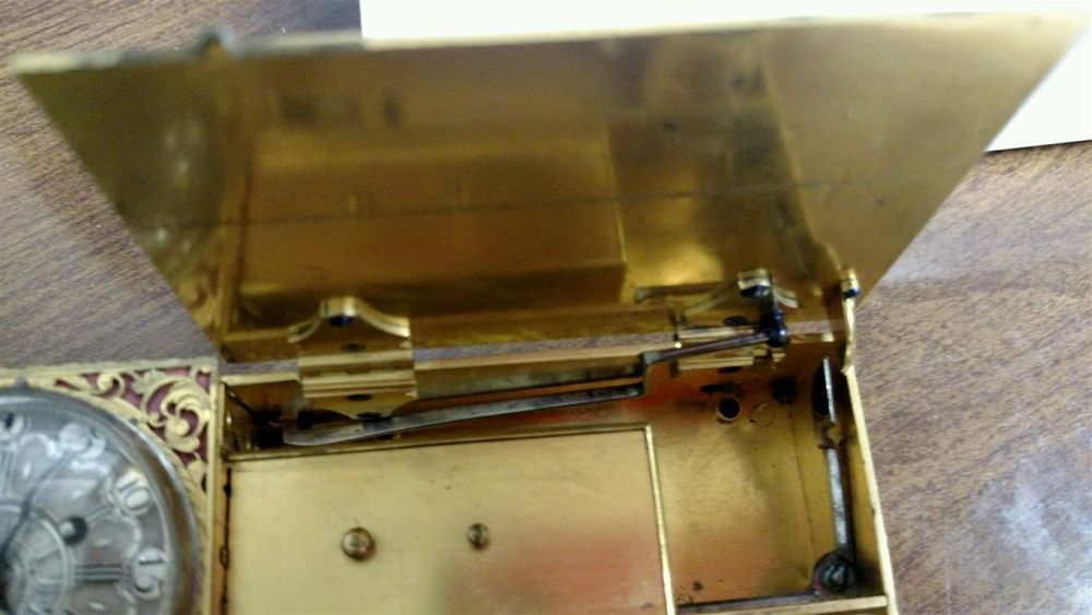 Flintlock Alarm Candle Clock | Sale Number 2920M, Lot Number 547