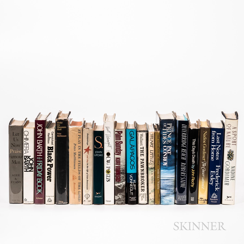 Twenty Mostly First Edition Works of Modern Literature.