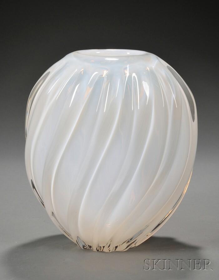 Large Studio Glass Vase