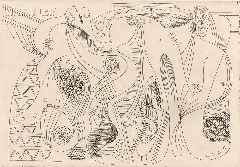 Pablo Picasso (Spanish, 1881-1973)      Figures
