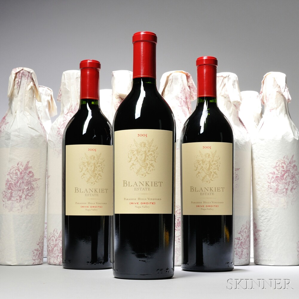 Blankiet Paradise Hills Rive Droit 2005, 12 bottles