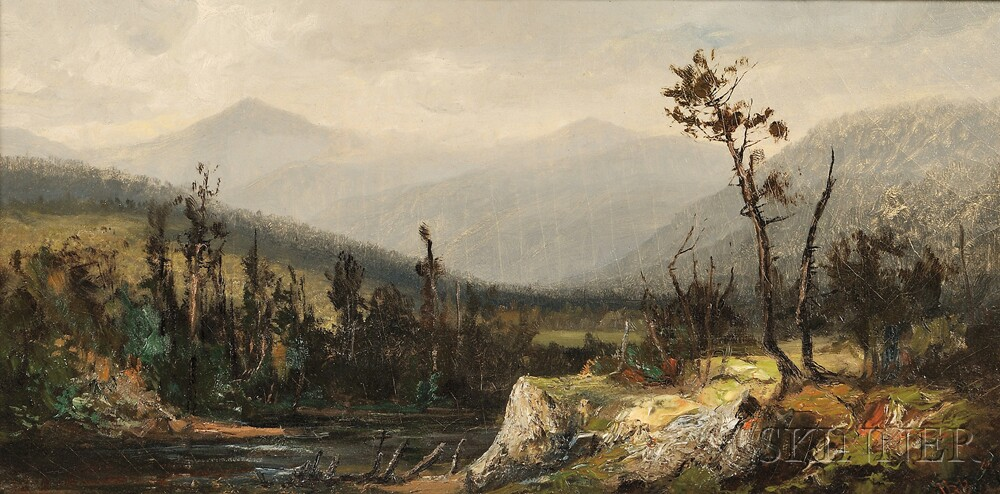 Harrison Bird Brown (American, 1831-1915)      Mount Washington View