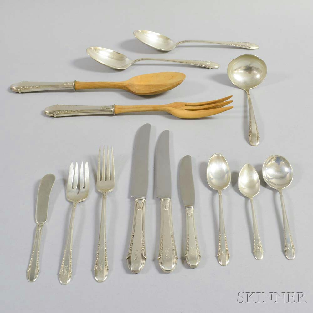 "International ""Enchantress"" Sterling Silver Partial Flatware Service"