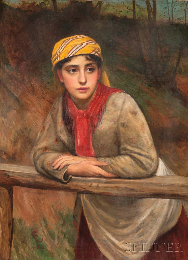 Charles Sillem Lidderdale (British, 1831-1895)      The Trysting Place
