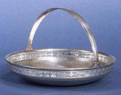 Tiffany & Co. Reticulated Sterling Bread Tray