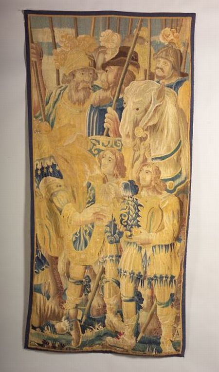 Flemish Wool and Silk Tapestry Panel