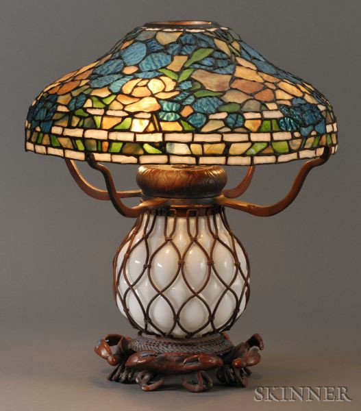 Decorative Mosaic Glass Lamp