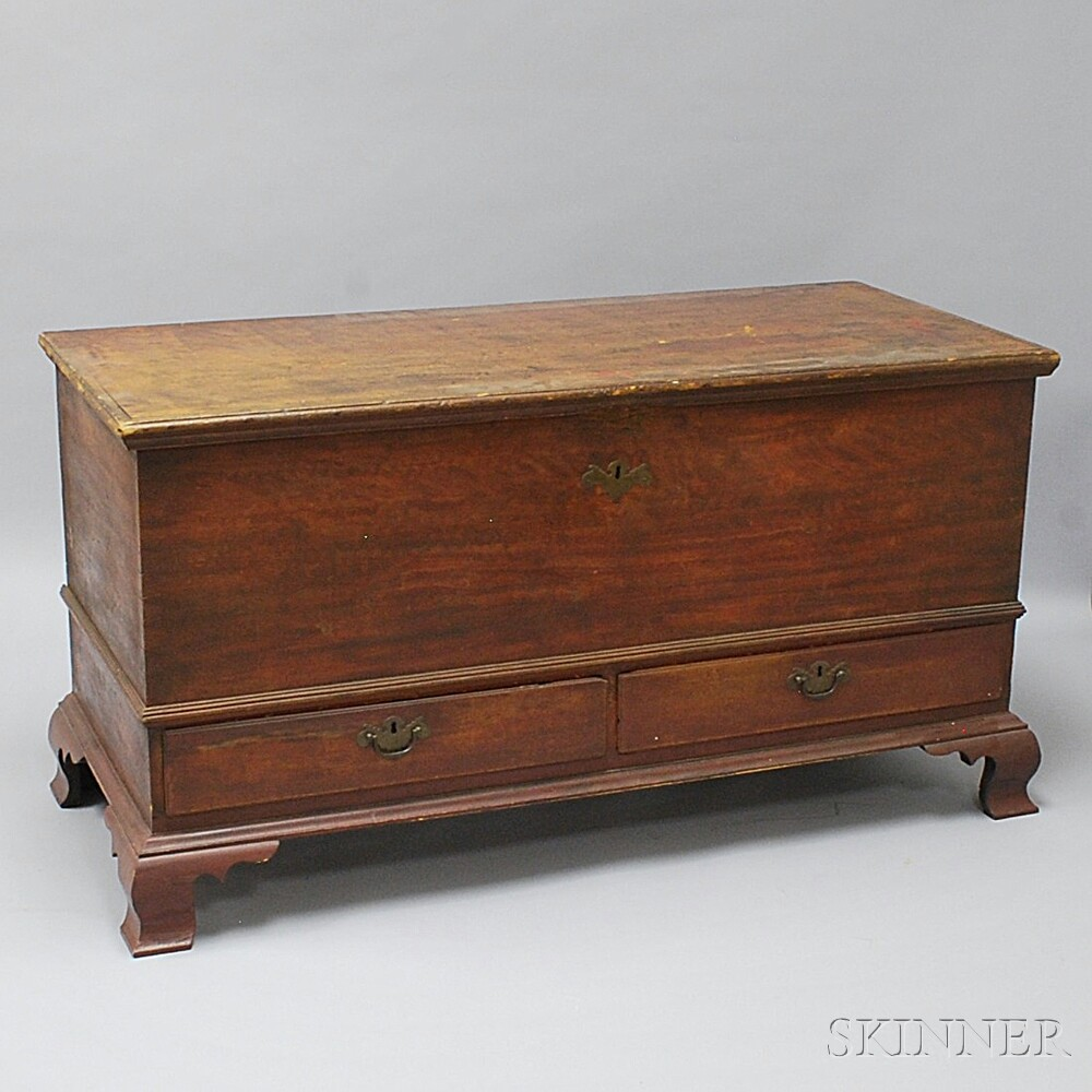 Chippendale Grain-painted Dower Chest