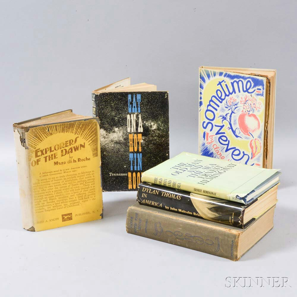 Six Assorted 20th Century Novels