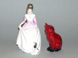 Two Royal Doulton Ceramic Figures