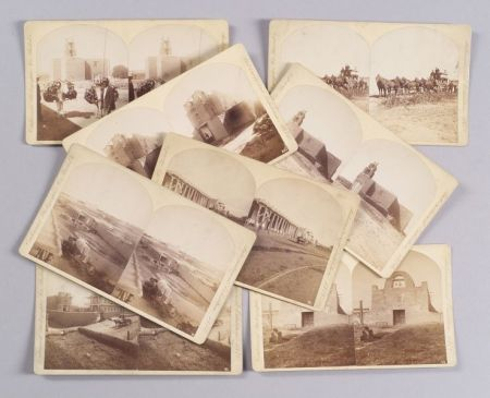 Set of Thirty-three Centennial Photographic Co. International Exhibition Stereoview   Cards of Mostly New Mexico in the American West