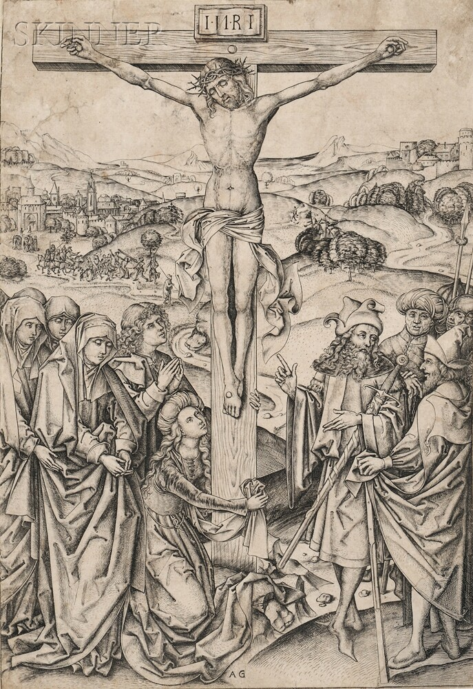 Albrecht Glockendon, the Elder (German, Late 15th/Early 16th Century)      Crucifixion