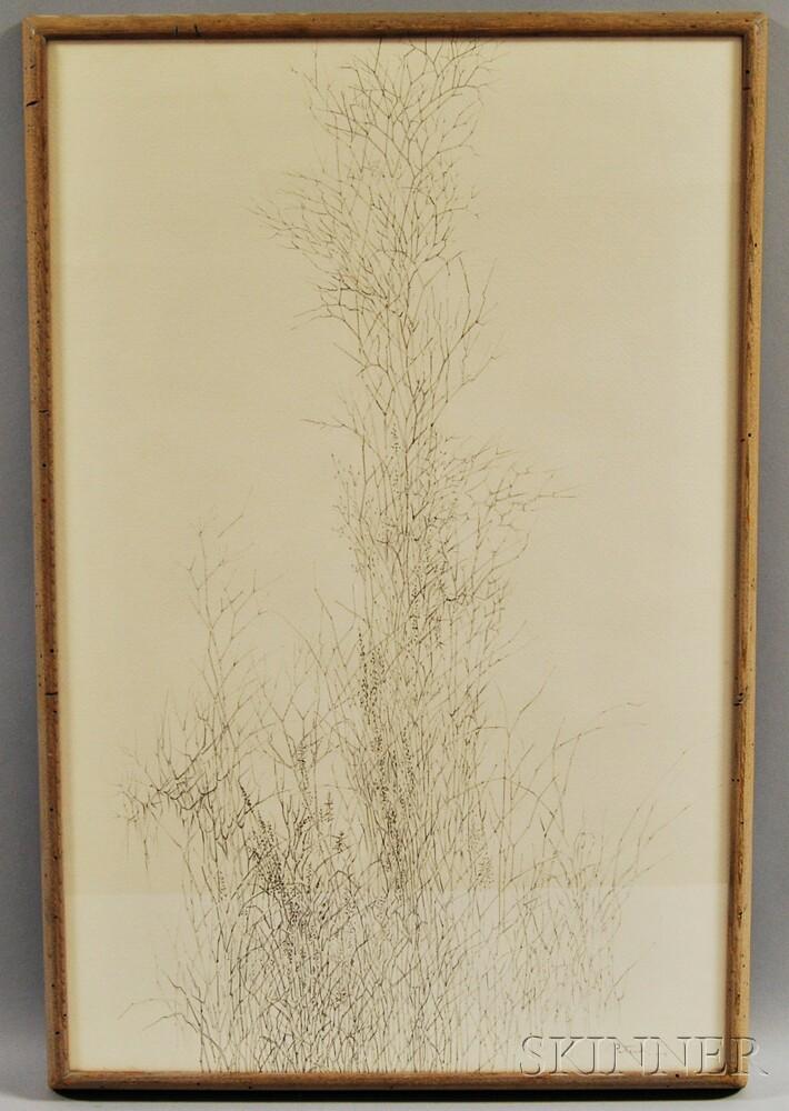 Gabor F. Peterdi (American, 1915-2001)    Vertical Garden II