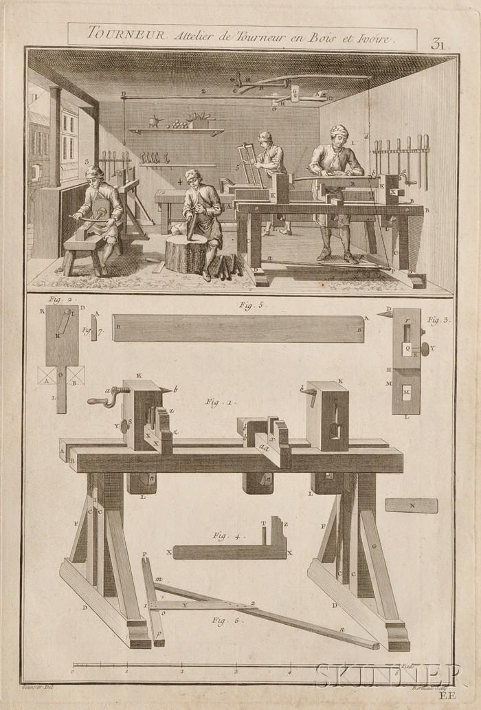 L'art du Tourneur Mecanicien, premier partie