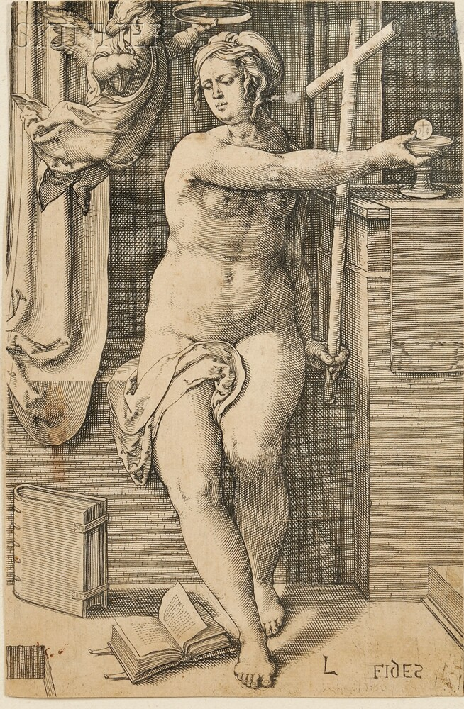 Lucas van Leyden (Dutch, 1494-1533)      Faith