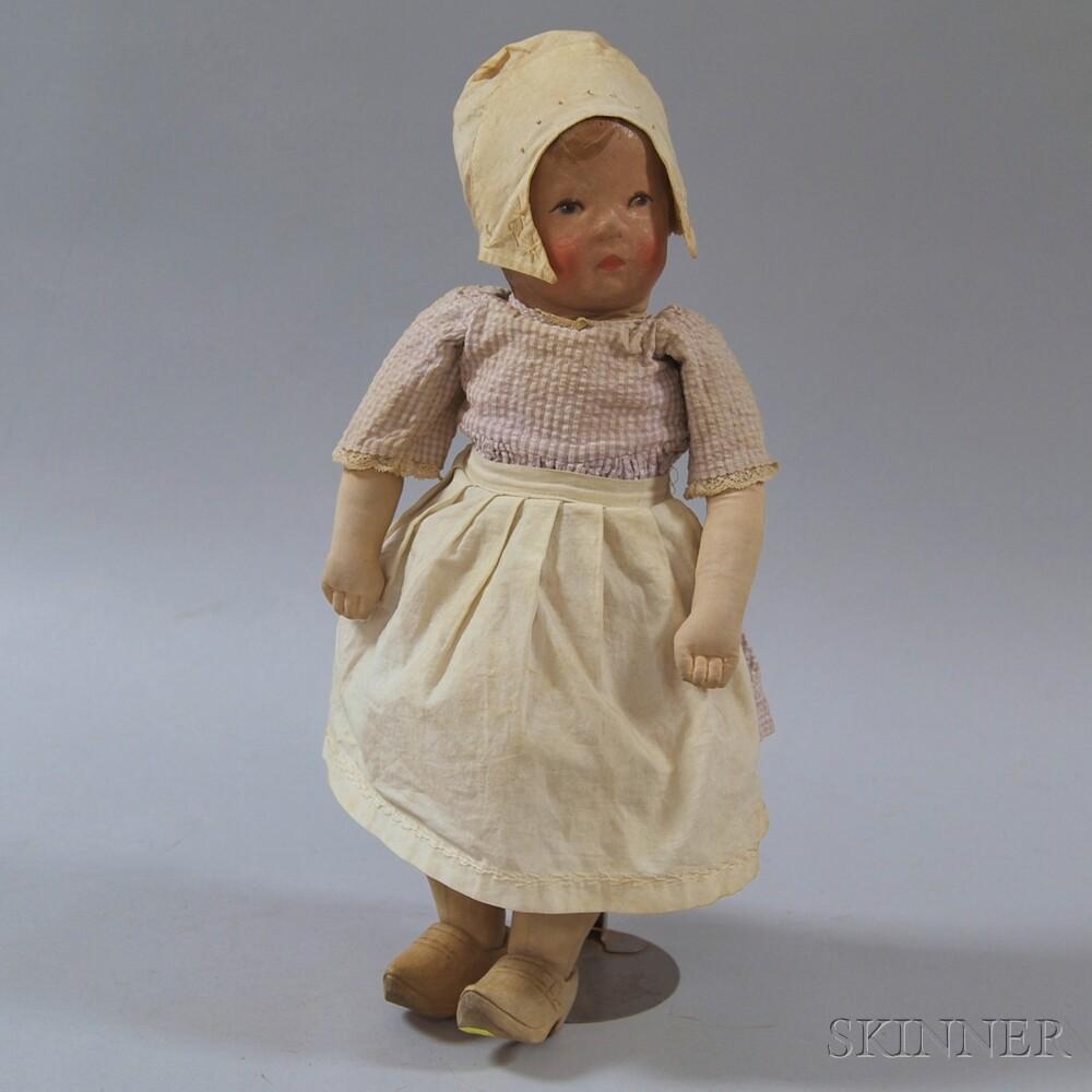 Martha Chase-type Dutch Girl Doll