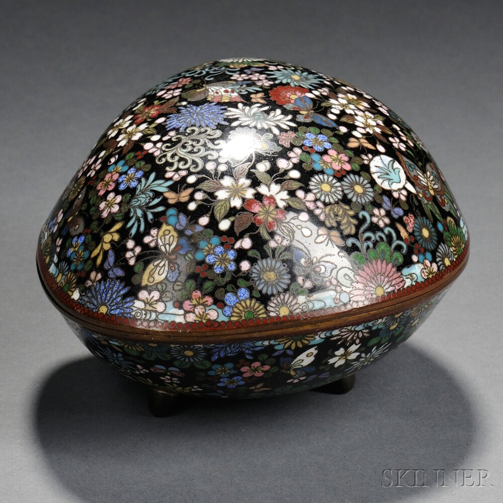 Cloisonne Covered Box