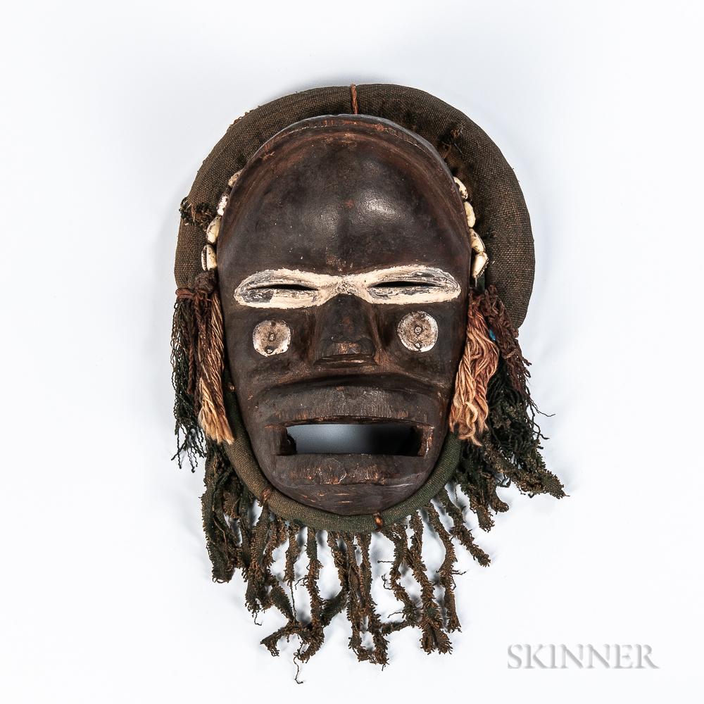 Dan Poro Society Mask