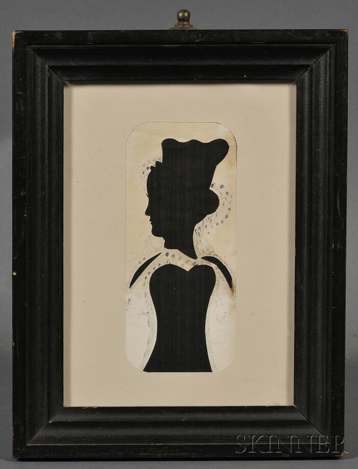 Silhouette Portrait of a Lady