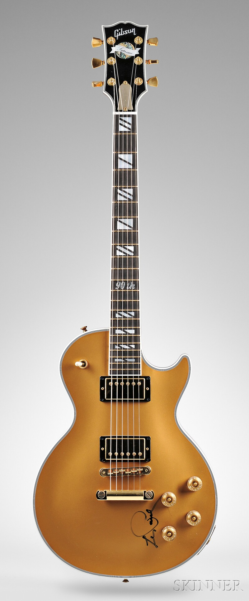 American Electric Guitar, Gibson Musical Instruments, Nashville, 2005, Model   Les Paul Supreme