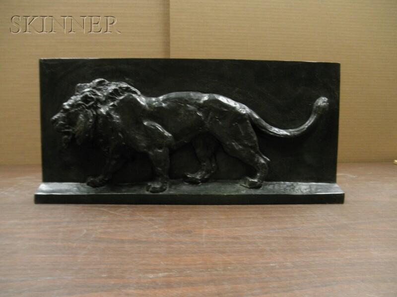 Antoine-Louis Barye (French, 1796-1875)      Lion de la colonne de Juillet (projet)