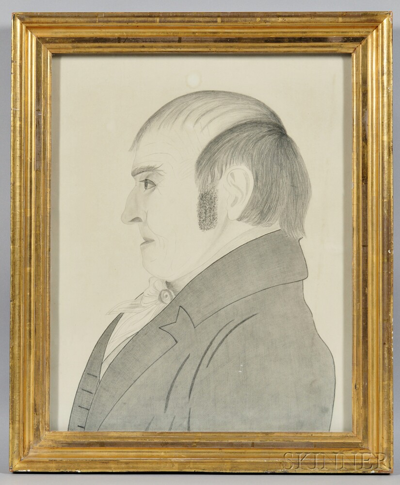 American School, 19th Century    Portrait of Jarrett Ingersol
