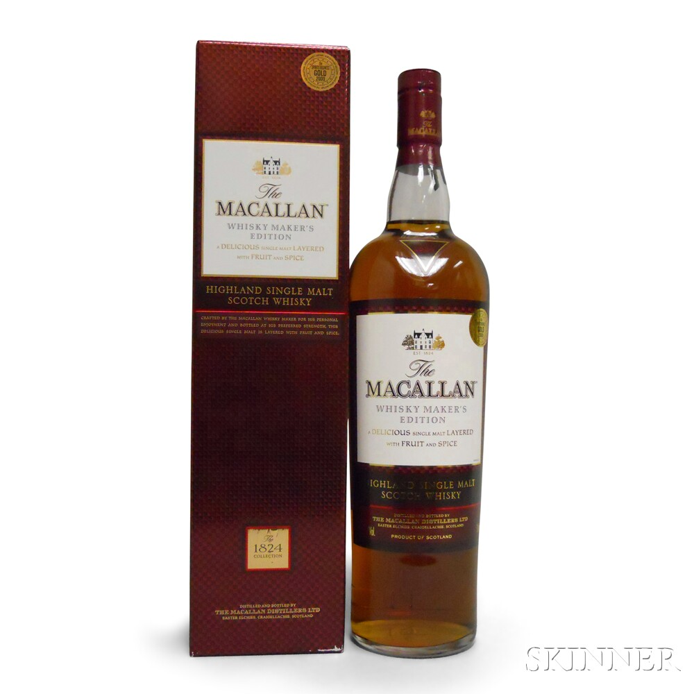 The Macallan Whisky Makers Edition, 1 1000ml bottle (oc)