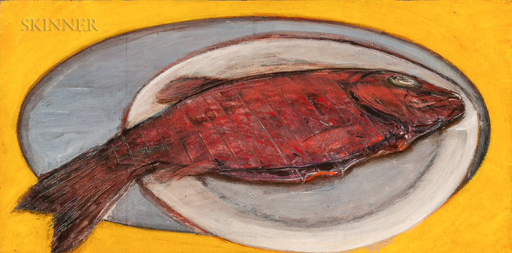 Ronald Wesley Hayes (American, 1935-2017)      Poisson