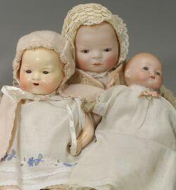 Three German Baby Dolls