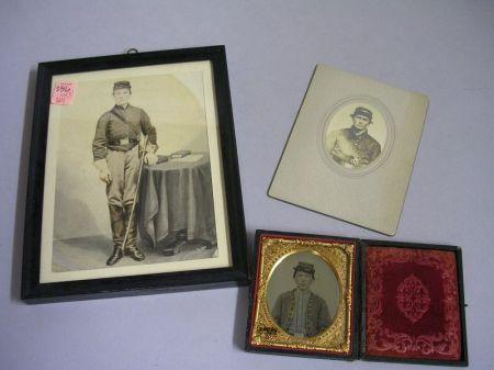 Three Civil War Era Portraits