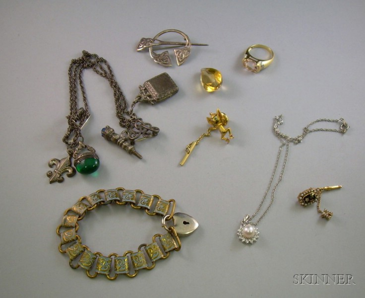Group of Assorted Estate Jewelry