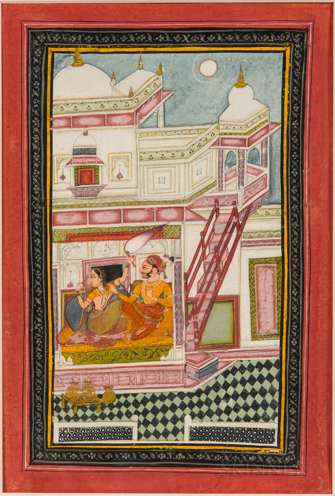 Painting of Varari Ragini from a Ragamala Series