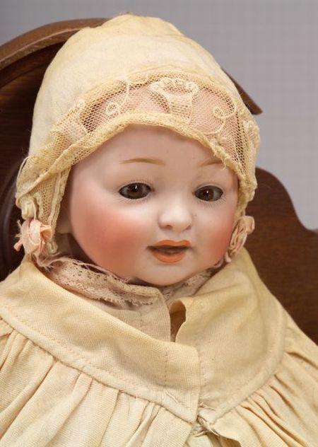 Kestner Bisque Socket Head Toddler Doll