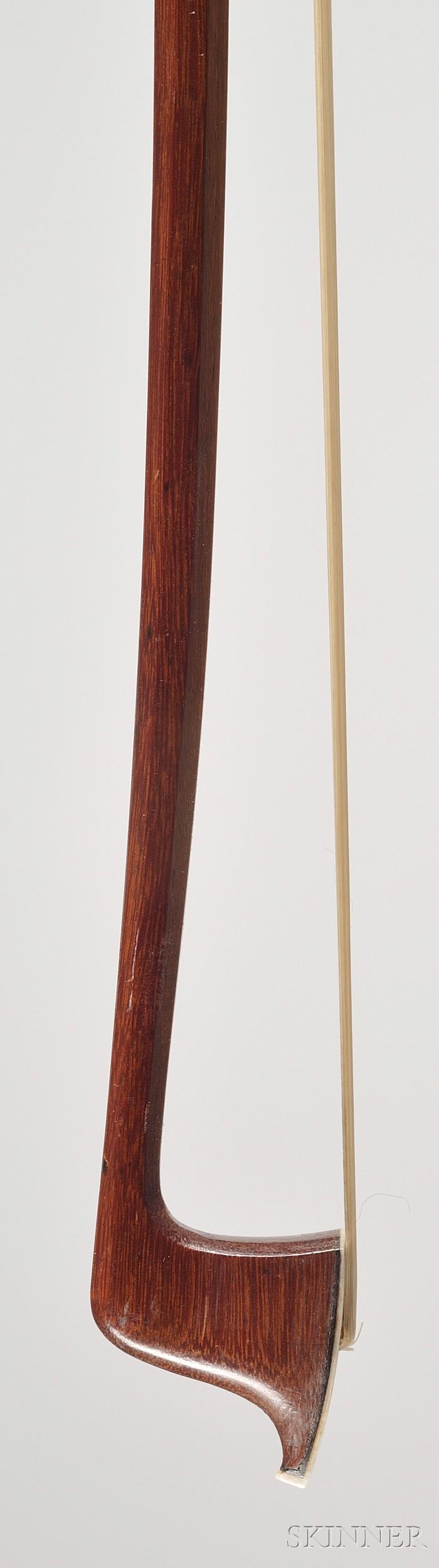 Silver Mounted Violin Bow, Otto Durrschmidt