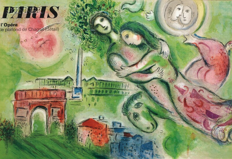 After Marc Chagall (Russian/French, 1887-1985)      Paris l'Opera - Roméo et Juliette