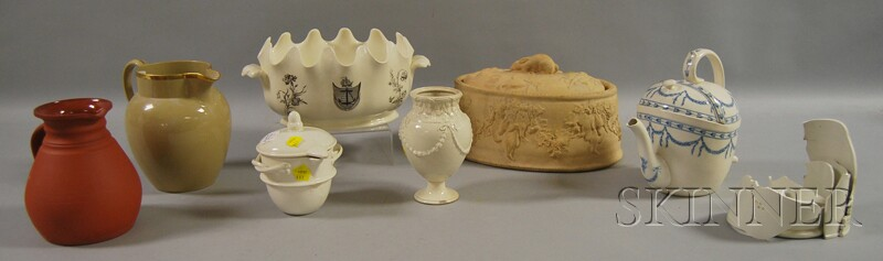 Seven Assorted Wedgwood Table Items