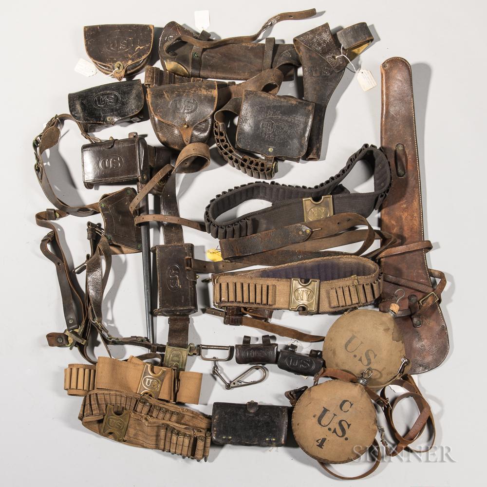 Group of Indian War-era Equipment
